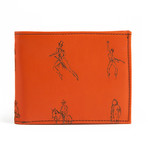 Bi-Fold Wallet // Monterosso Orange