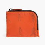 Half Zip Wallet // Monterosso Orange