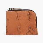 Half Zip Wallet // Virginia Natural