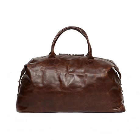 Benedict Weekend Bag // Brown