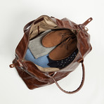 Benedict Weekend Bag // Brown