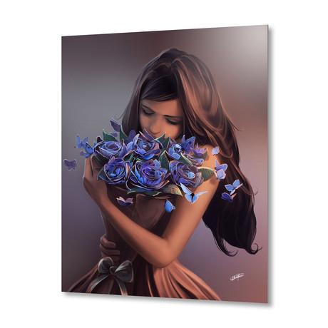 "Ephemeral Beauty // Aluminum Print (16""W x 20""H)"