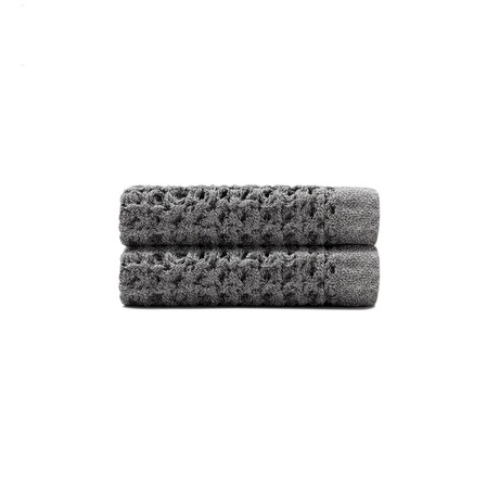 Face Towel + Wash Cloth // Set of 2 (Cinder Gray)