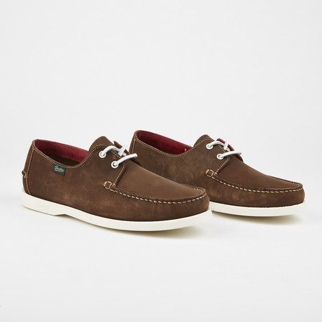 Domingue Nubak Boat Shoe // Brown (US: 7)