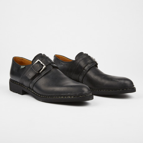Loti Casual Monkstrap // Black (US: 7)