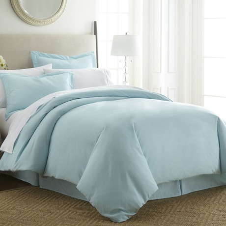 Hotel Collection // Premium Ultra Soft 3 Piece Duvet Cover Set // Aqua (Twin/Twin XL)
