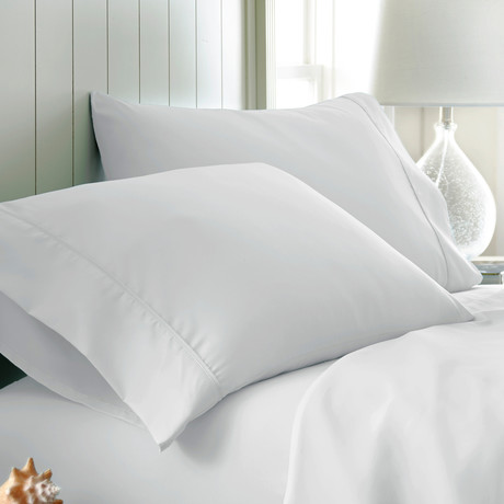 Hotel Collection // Premium Ultra Soft 2 Piece Pillowcase Set // King (White)