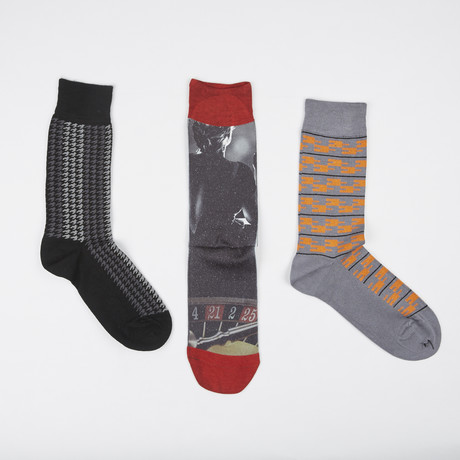 Socks // Pack of 3 // Roulette