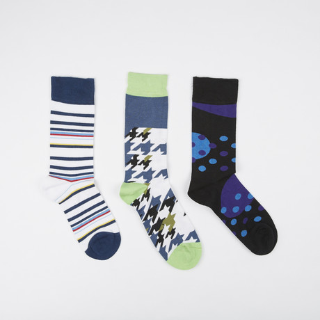 Socks // Pack of 3 // 90's