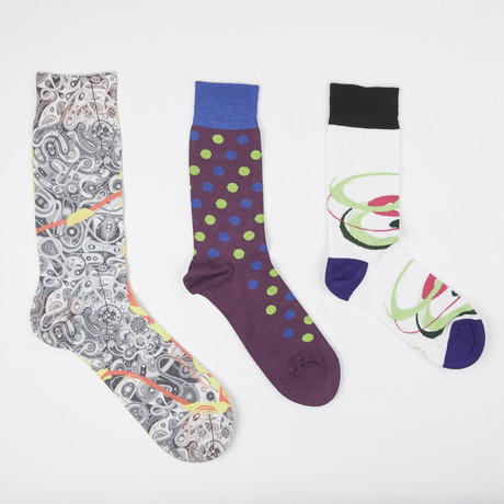 Socks // Pack of 3 // Out of This World