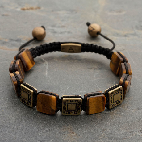 The GLDN TGR Bracelet  // Brown