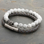 The Ancient Howlite Set of Calmness Bracelet