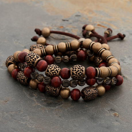 The Steel Tibetan Bracelet