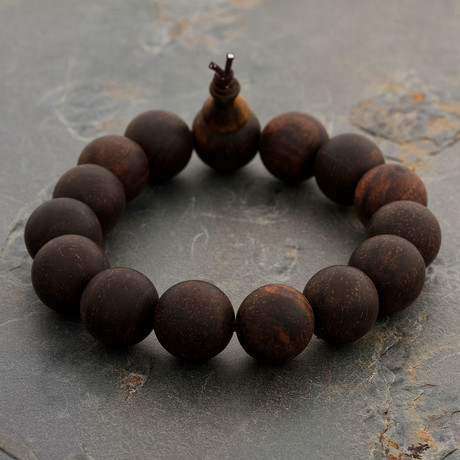 The Merlot-Wood Bracelet