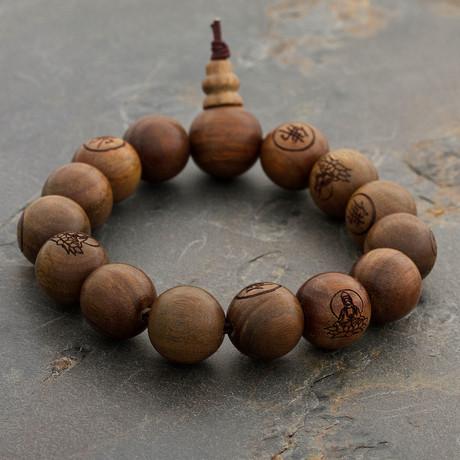 The Golden Oak Wood Bracelet