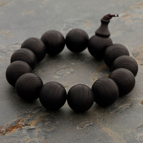 The Blackened-Wood Bracelet