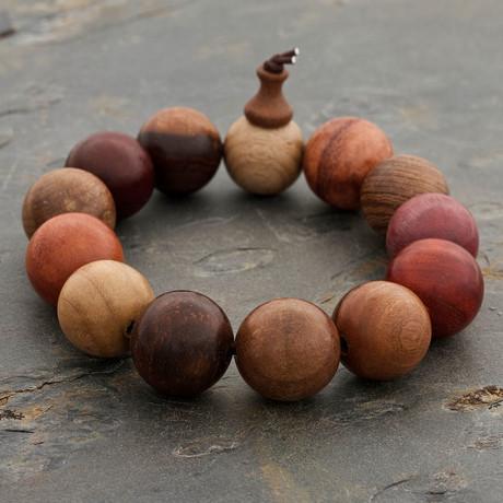 The Multitude Wood Bracelet