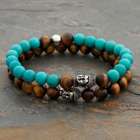 The Turquoise Buddha Set