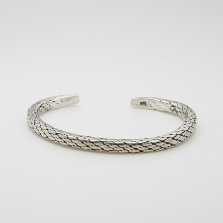 S Wave Cuff Bracelet
