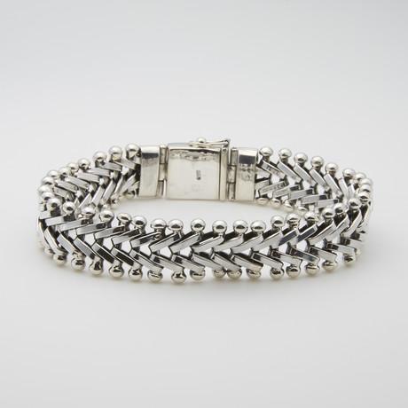 Spinal Twist Statement Bracelet