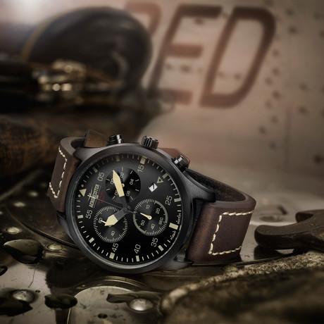 Aeromeister Taildragger Chronograph Quartz // AM8005