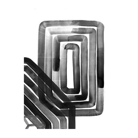 "In The Maze (24""W x 3.8""H x 30""D)"