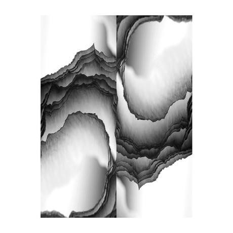 """Oyster Bay Black & White (24""""W x 3.8""""H x 30""""D)"""