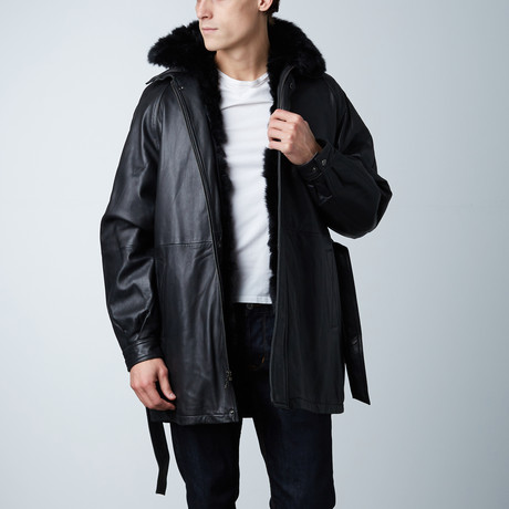 Fur Lined Half-Coat (S)