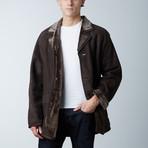 Mckinley Spanish Shearling Coat // Brown (XS)