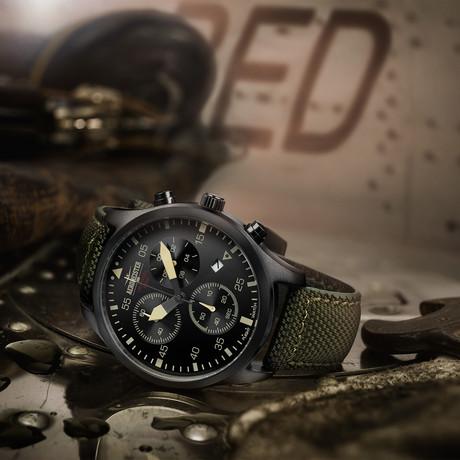 Aeromeister Taildragger Chronograph Quartz // AM8001