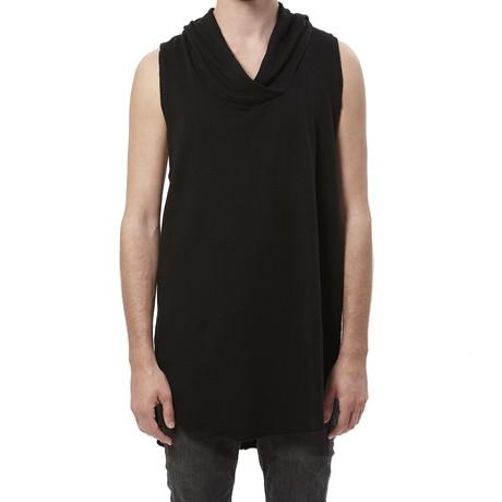 Cross-Neck Tank // Black (S)