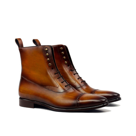 Balmoral Boot Patina // Cognac (US: 6)
