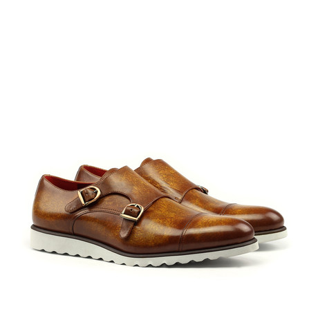 Double Monk Patina // Cognac (US: 6)