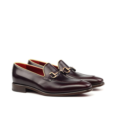 Bit Loafer // Burgundy (US: 6)