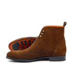 Military Brogue Suede // Cognac (US: 6)
