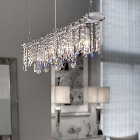 Bryce Collection Linear Chandelier