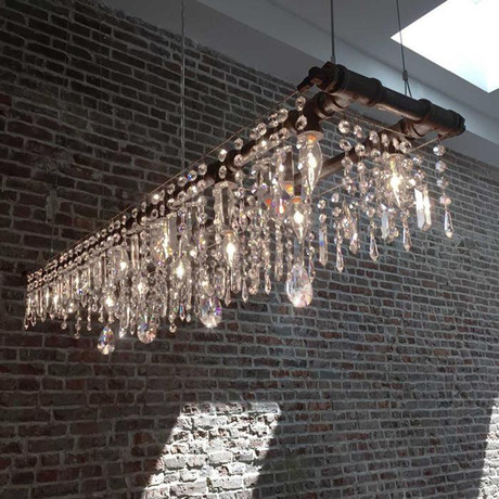 Tribeca 12 Bulb Banqueting Chandelier