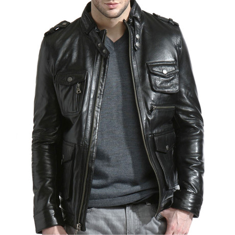 Ultimate Moto Jacket // Black (L)