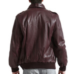 Members Only Jacket // Burgundy (L)