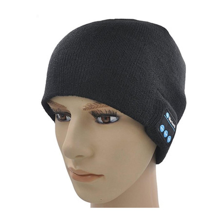 ActionTech Bluetooth Beanie With Headphones + Microphone