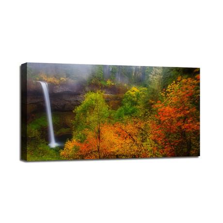 """Silver Falls (24""""W x 12""""H x 1.5""""D)"""