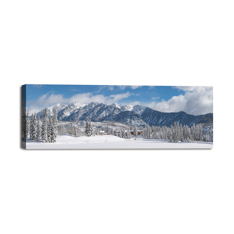 "Colorado Winter Wonderland (36""W x 12""H x 1.25""D)"