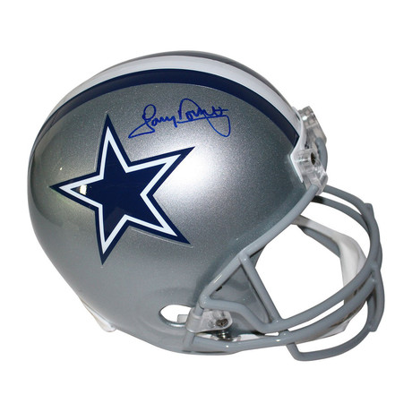 Tony Dorsett Signed Dallas Cowboys Replica Helmet