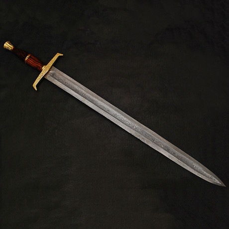 Damascus Sword // 9214