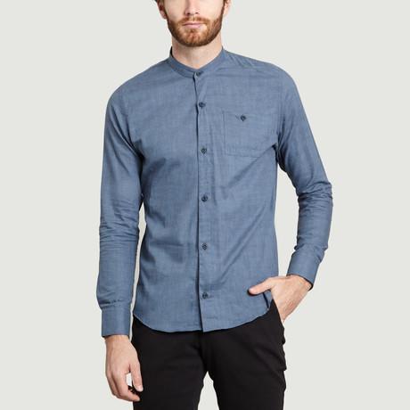 Mao Shirt // Blue (S)