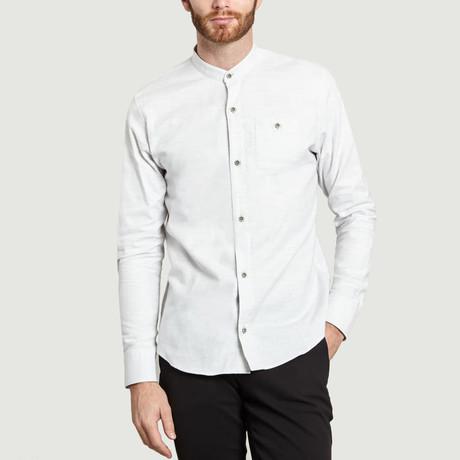 Mao Shirt // Light Grey (S)