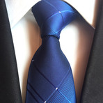 Handmade Tie // Shades of Blue