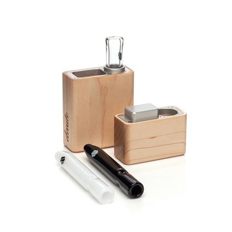 Maple Dugout Kit // Aluminum Accent (Black Glass)