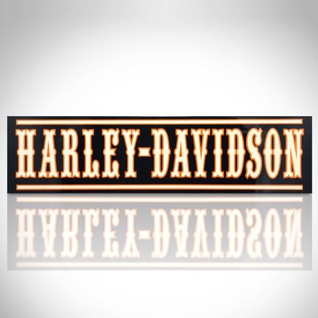 Harley-Davidson // Traditional Wood Plank Dealership Sign