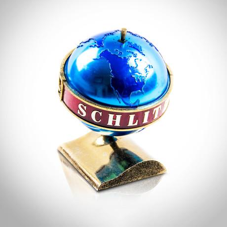 Schlitz 1956 Beer Globe // Original Vintage Bar Display